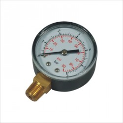 "Manometer 0-2,5 bar 1/4"" Pahlen , filter"