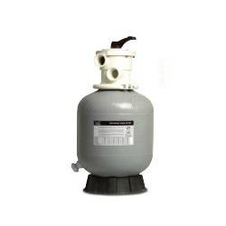 """Sand filter 400 inkl. ventil 1 1/2 """" Glassfiber"""