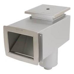 Skimmer standard betong / pahlen syrefast / Overløp , nivå .