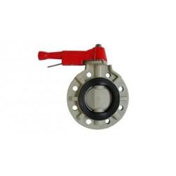 Spjeldventil PVC .63/75mm