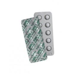 DPD rapid / klor tabletter brett nr 1 , løse brett