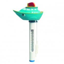 Termometer, med båt