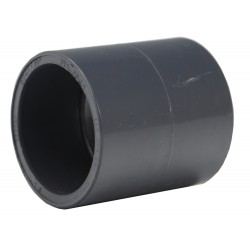 Muffe .50mm PVC