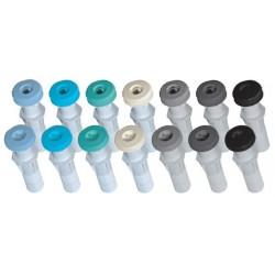 Innløp plast duk / betong div. farger