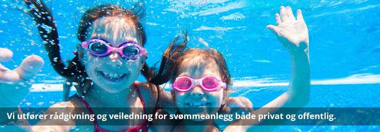 Vi utfører rådgivning og veiledning for svømmeanlegg både privat og offentlig