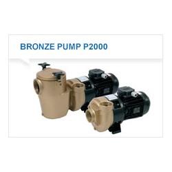 Pumpe 2,2 kw P2000 Pahlen bronse uten forfilter