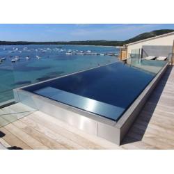 Prefabrikkert glassmosaikk basseng