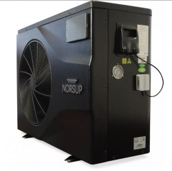 Norsup inverter , PV. Vertikal, 10,0 kw 35-60 m3 basseng