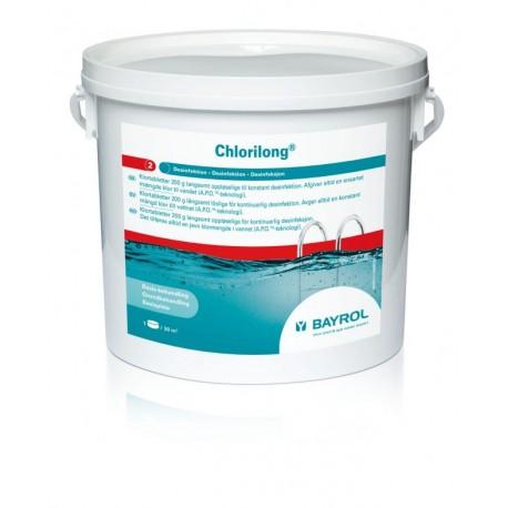 Chlorilong 5,0 kg Klortablett Bayrol ( 200g pr stk )