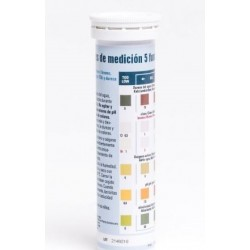 Teststrips pH, Cl, Br, Alkanitet