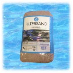Filtersand 20 kg 0,8-1,2mm
