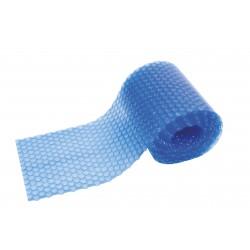 Bobletrekk , blå , laget etter mål , kant forsterket, pr m2