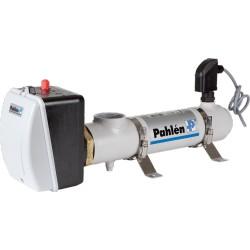 El varmer 12 kW inkl. flowswitch og termostater.